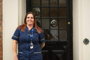 Karen Spooner Matron at Burton and Trent Court Care Homes