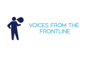 Voices from the frontline Logo