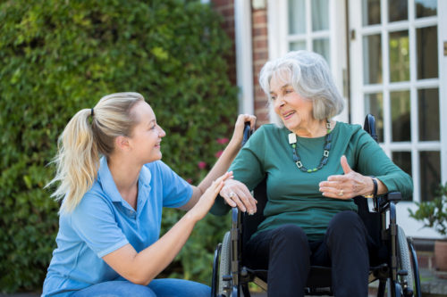 Supporting with dementia